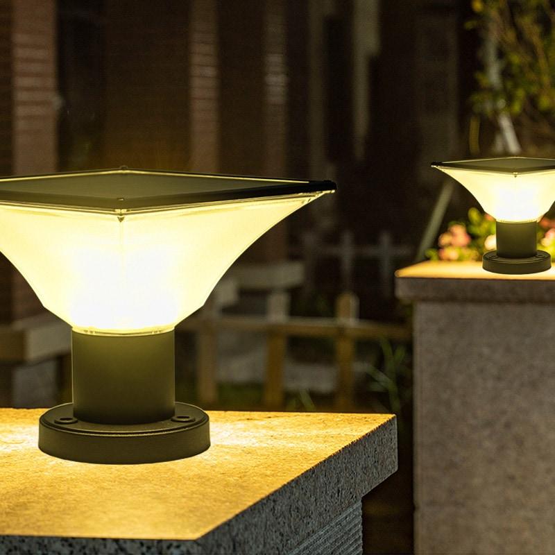 solar posttop light 7w