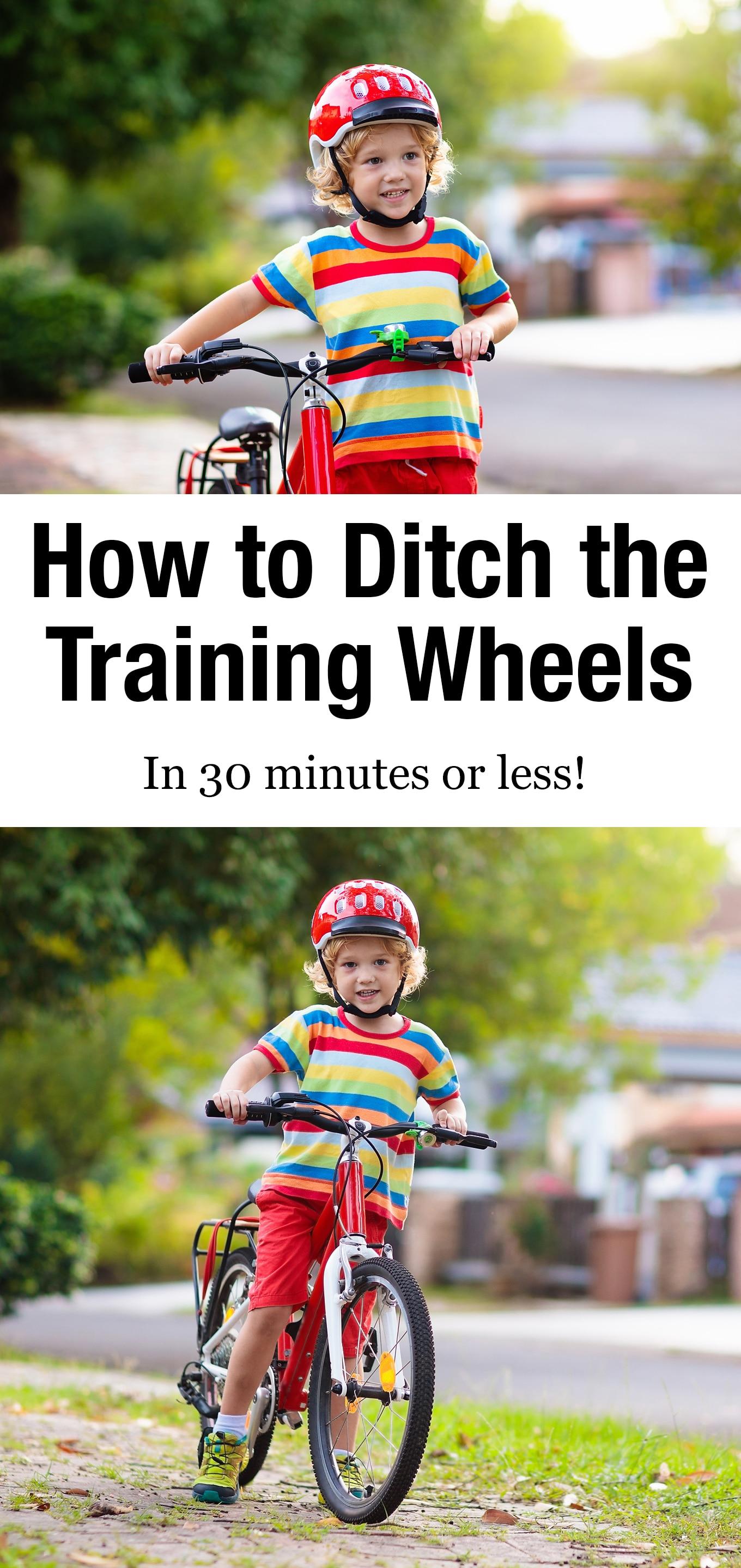 Teach your child how to ride a bike in 30 minutes or less with proven tips that work! #rideabike #teachyourchildtorideabike #preschool #bike #howtorideabike via @firefliesandmudpies