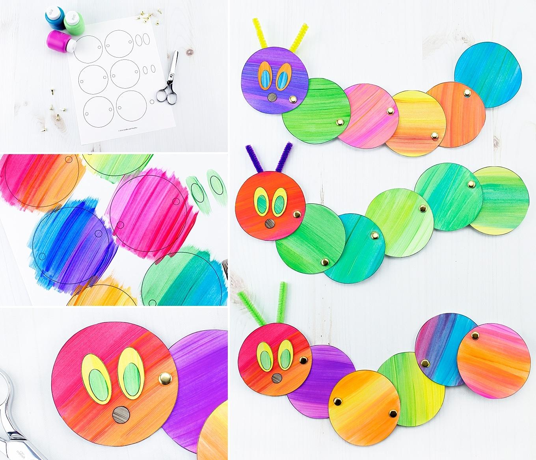 Easy and Fun Caterpillar Craft