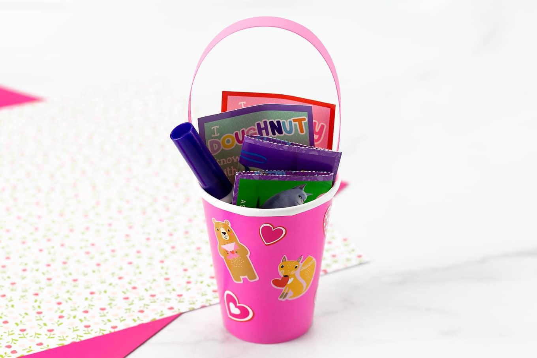 DIY Valentine Card Holder