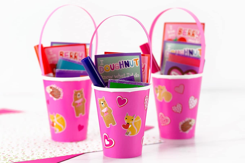 Easy Valentine Card Holder Craft for Kids
