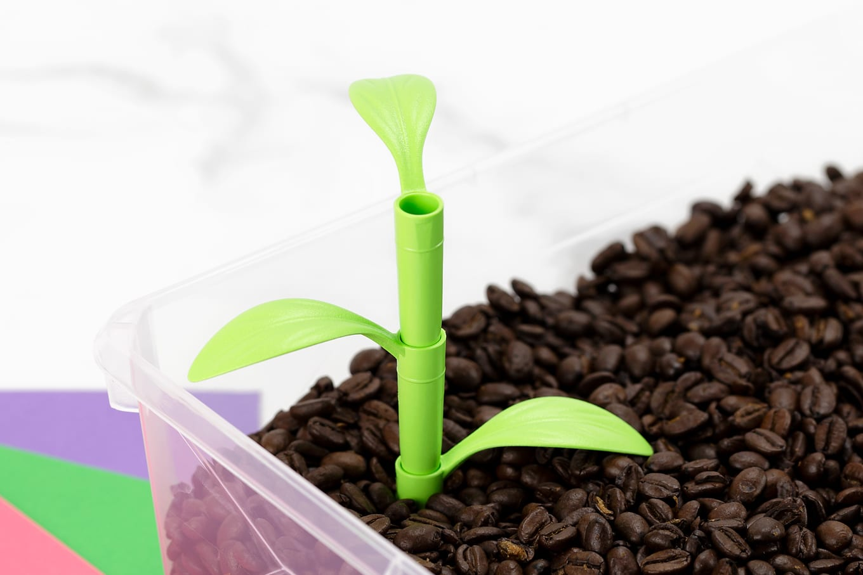 Planting Sensory Bin for Kids