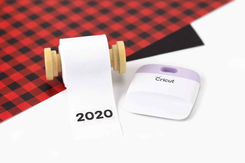 Cricut Transfer on Grosgrain Ribbon