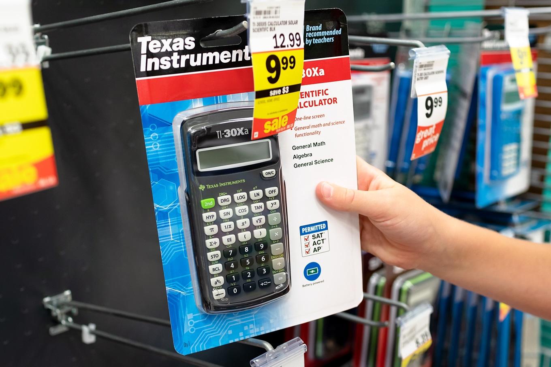 Shopping for Calculator