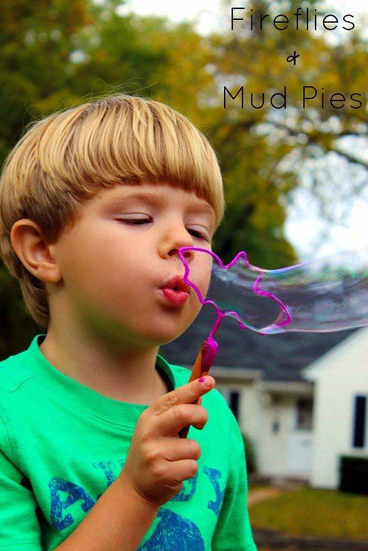 Bat Halloween Bubble Wands - Fireflies and Mud Pies