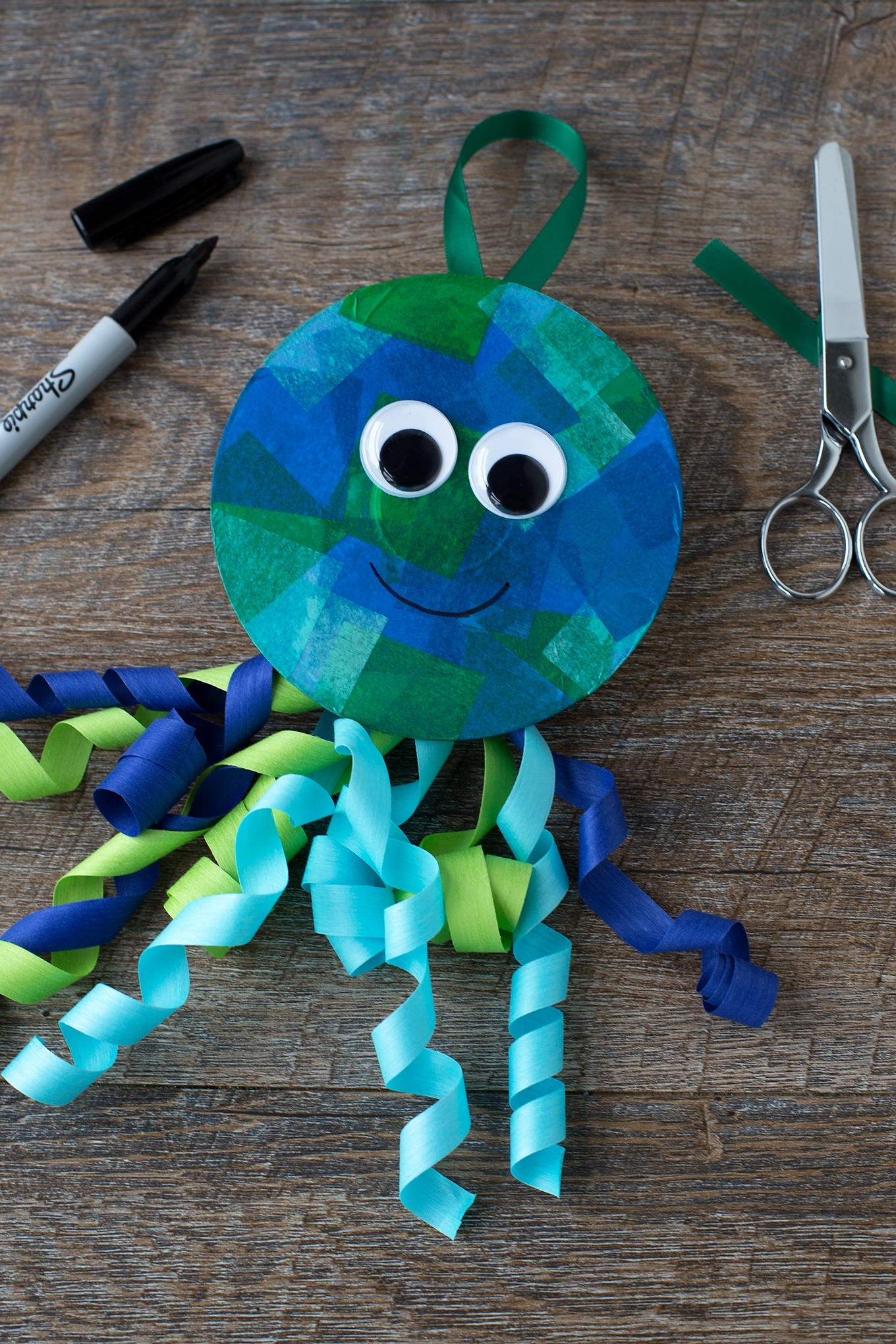 Blue Jellyfish Craft