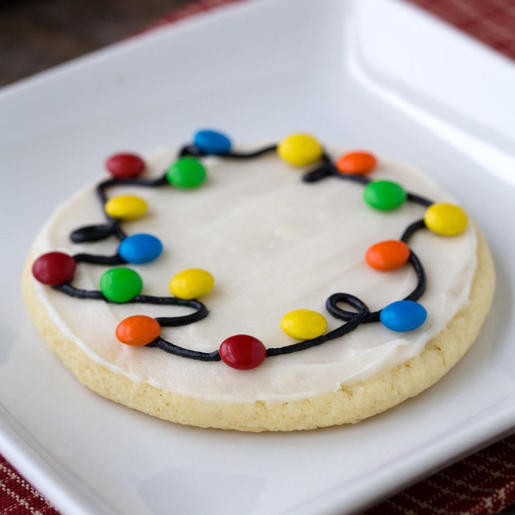 How To Make Christmas Lights Cookies