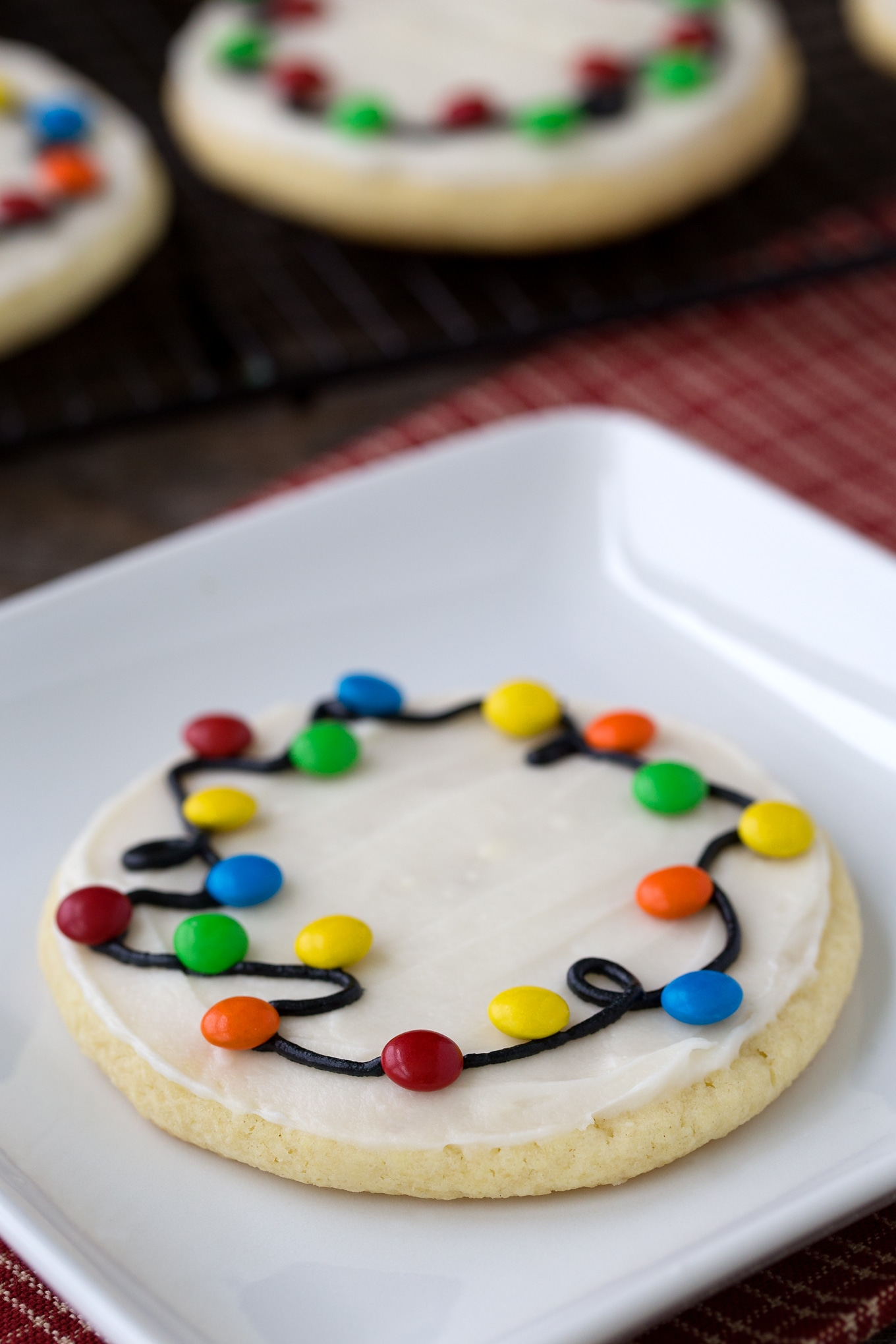 Easy and Fun Christmas Lights Cookies