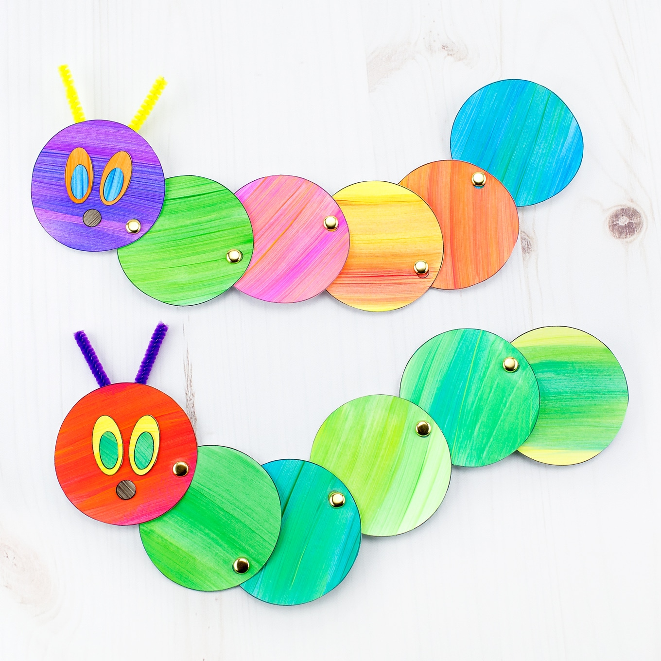 Easy Caterpillar Craft