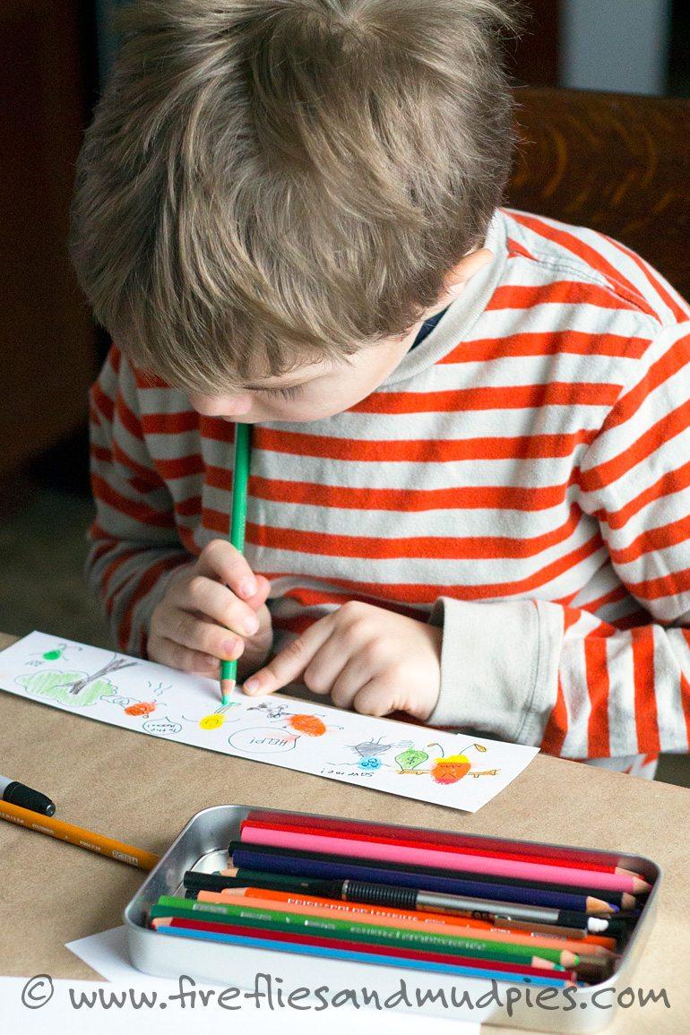 Fun Art for Kids | Fireflies and Mud Pies