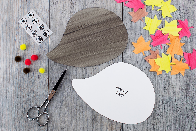 Make a Simple Paper Hedgehog Craft