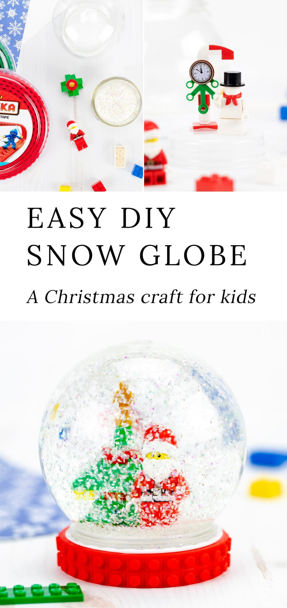 DIY Snow Globe Instructions and Video Tutorial
