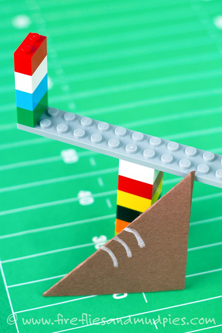 Entertain the kids during the Big Game with LEGO Football! | Fireflies and Mud Pie