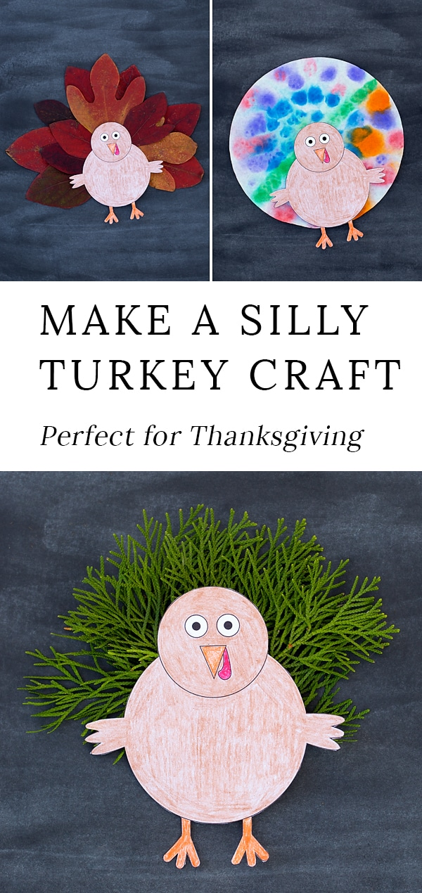 This easy, DIY turkey craft is perfect for preschool! Kids will enjoy being creative with hands, leaves, paper, and more as they create their own cute turkey. This craft includes full directions, a template, and a video tutorial. #thanksgiving #turkey #preschool #craft via @firefliesandmudpies