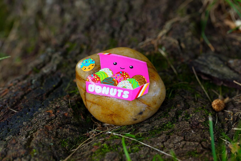 Donut Sticker Rock