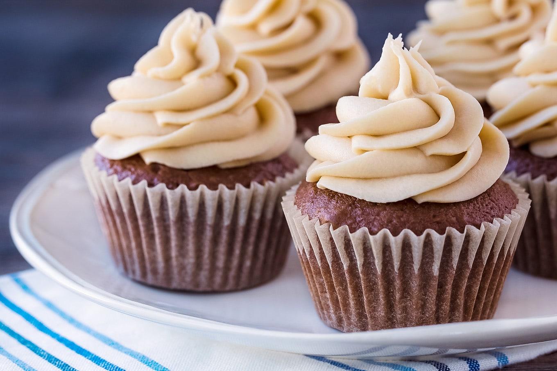 Homemade Mocha Cupcakes