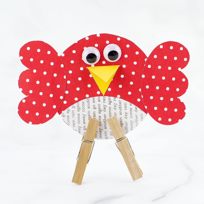 Paper Cardinal Craft