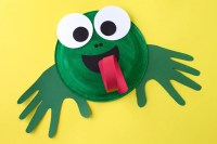 How to Make a Paper Plate Frog Craft