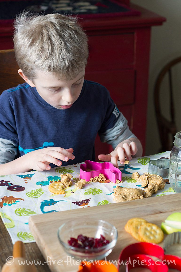 Peanut Butter Playdough Snack for Kids | Fireflies and Mud Pies