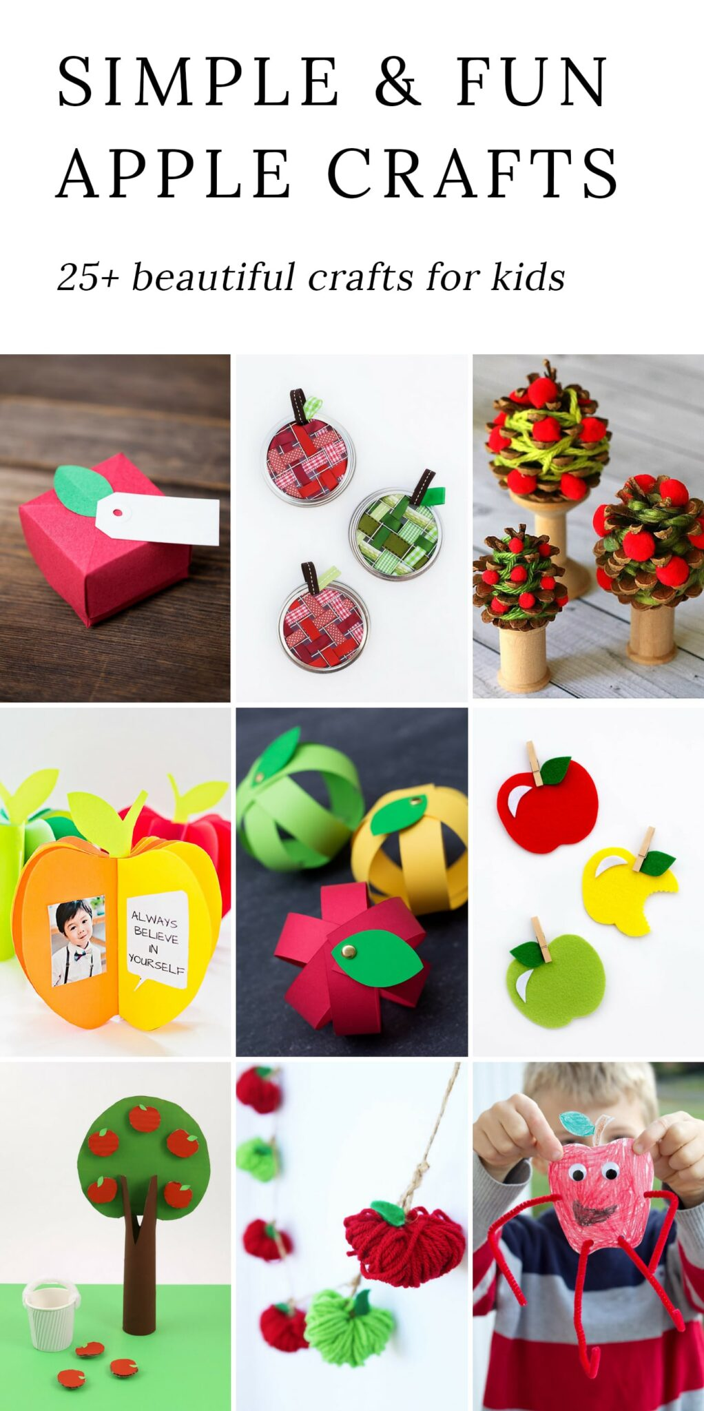 simple and fun apple