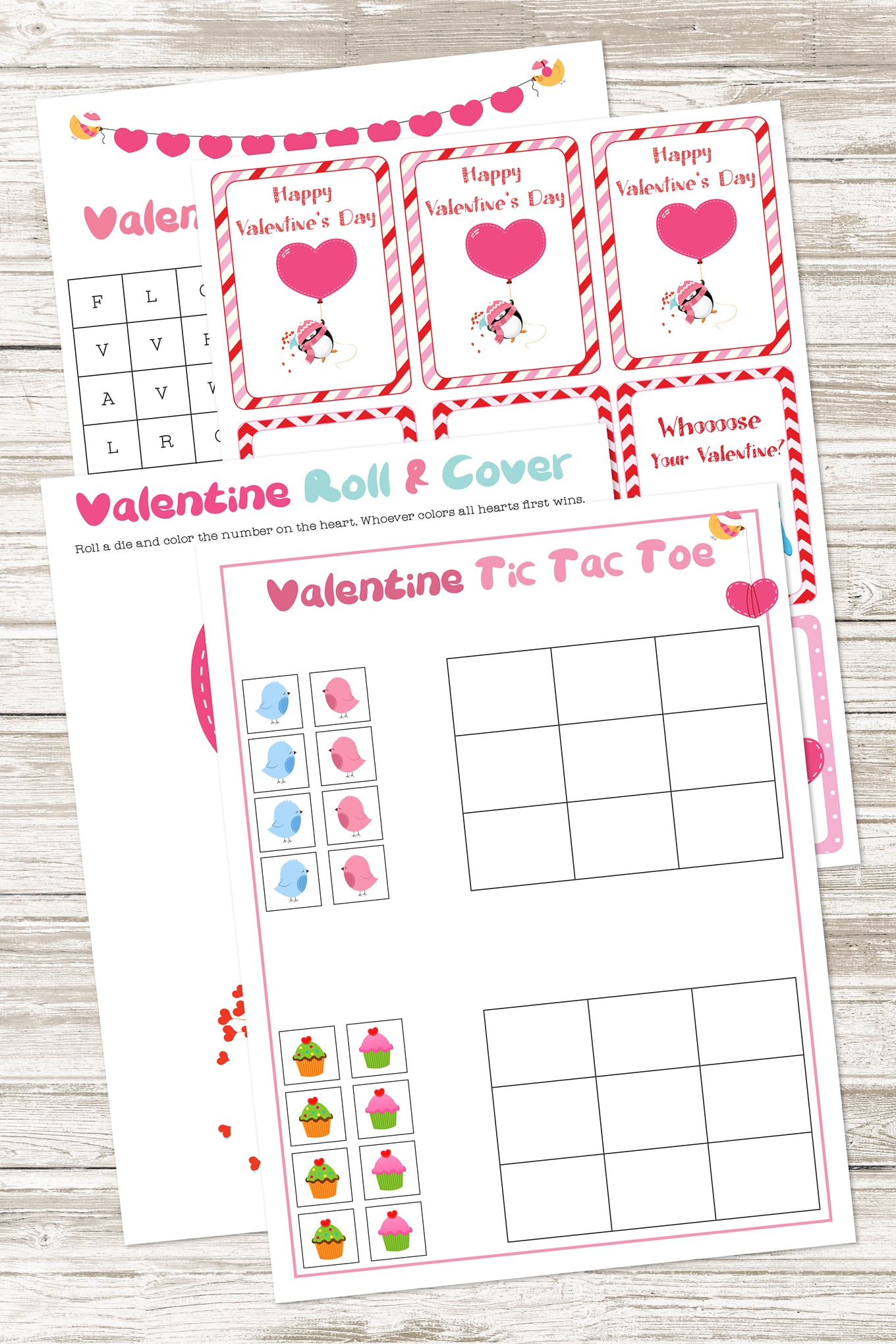 Free Printable Valentine's Day Activity Pack