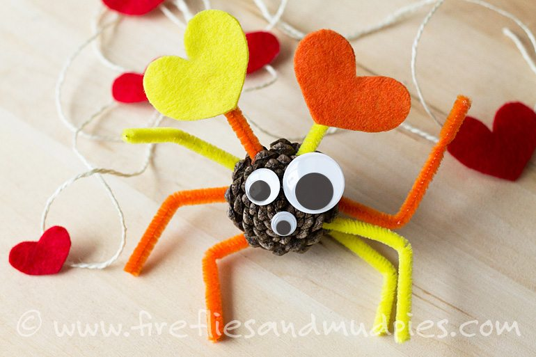 Yellow ad Orange Valentine Love Bugs