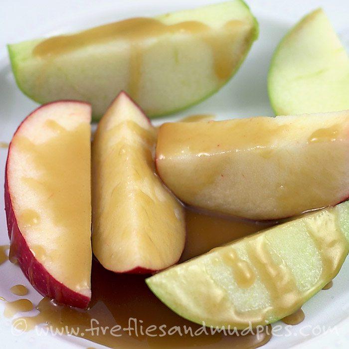Salted Caramel Apple Dip | Fireflies and Mud Pies