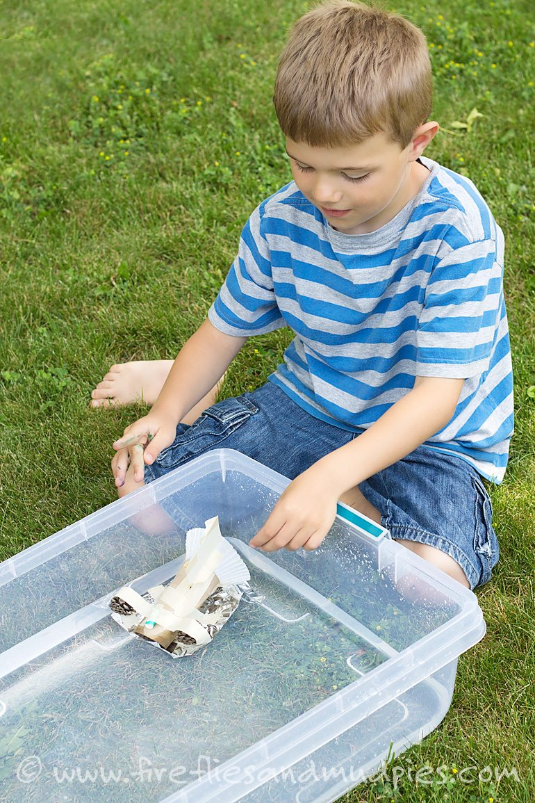 Keeping learning this summer with STEM Design Challenges | Fireflies and Mud Pies