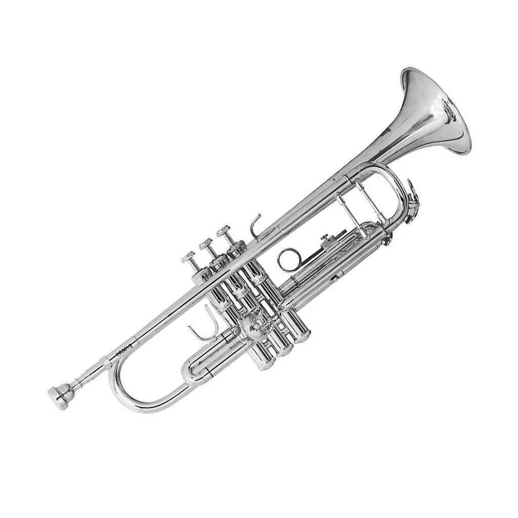 Tromba In Sib Bach Tr 501s Argentata