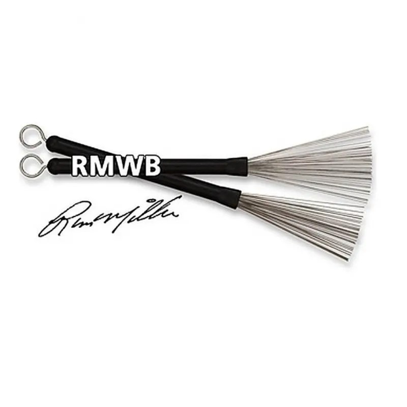 SPAZZOLE IN METALLO VIC FIRTH RUSS MILLER WIRE BRUSH AB