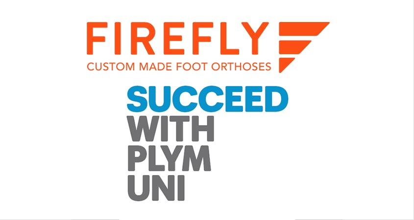 Plymouth University Podiatry Degree and Firefly Orthoses