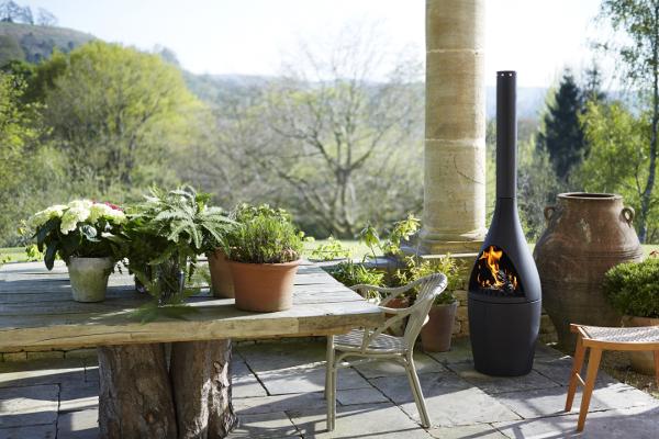 Morso Kamino Outdoor fireplace and BBQ