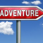 adventure road sign travel world live adventurous with outdoor e