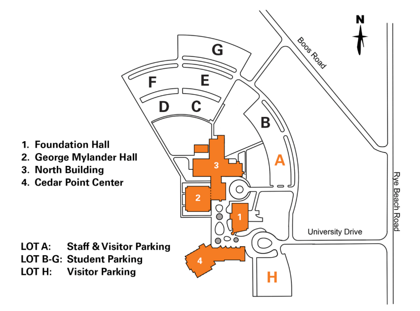 Campus Parking Map & Regulations