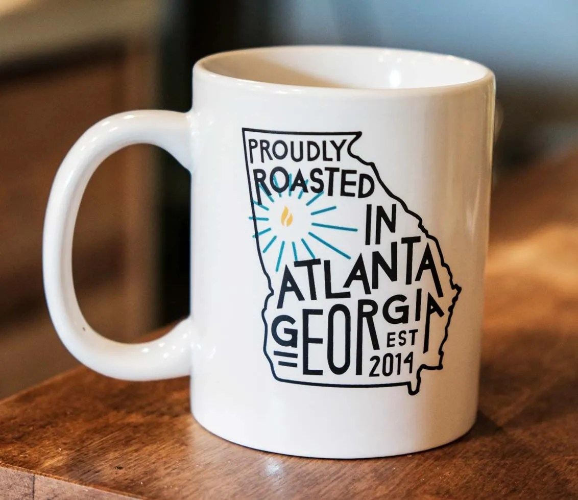 Proudly Roasted Mug