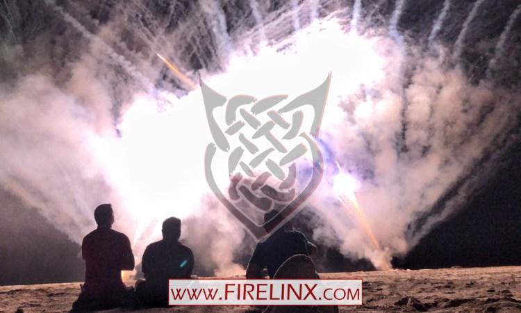 Florida Pyrotechnic Arts Guild 3rd Annual show - Firelinx