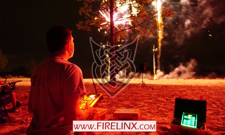 Firelinx Command Module Armed - Florida Pyrotechnic Arts Guild event Nov 2020