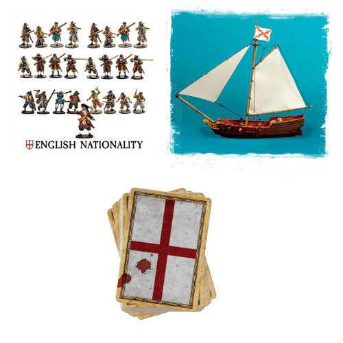 English nationality sloop bundle