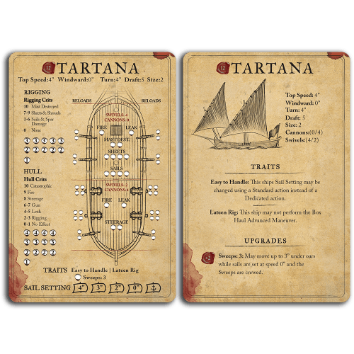 Tartana Ship Card