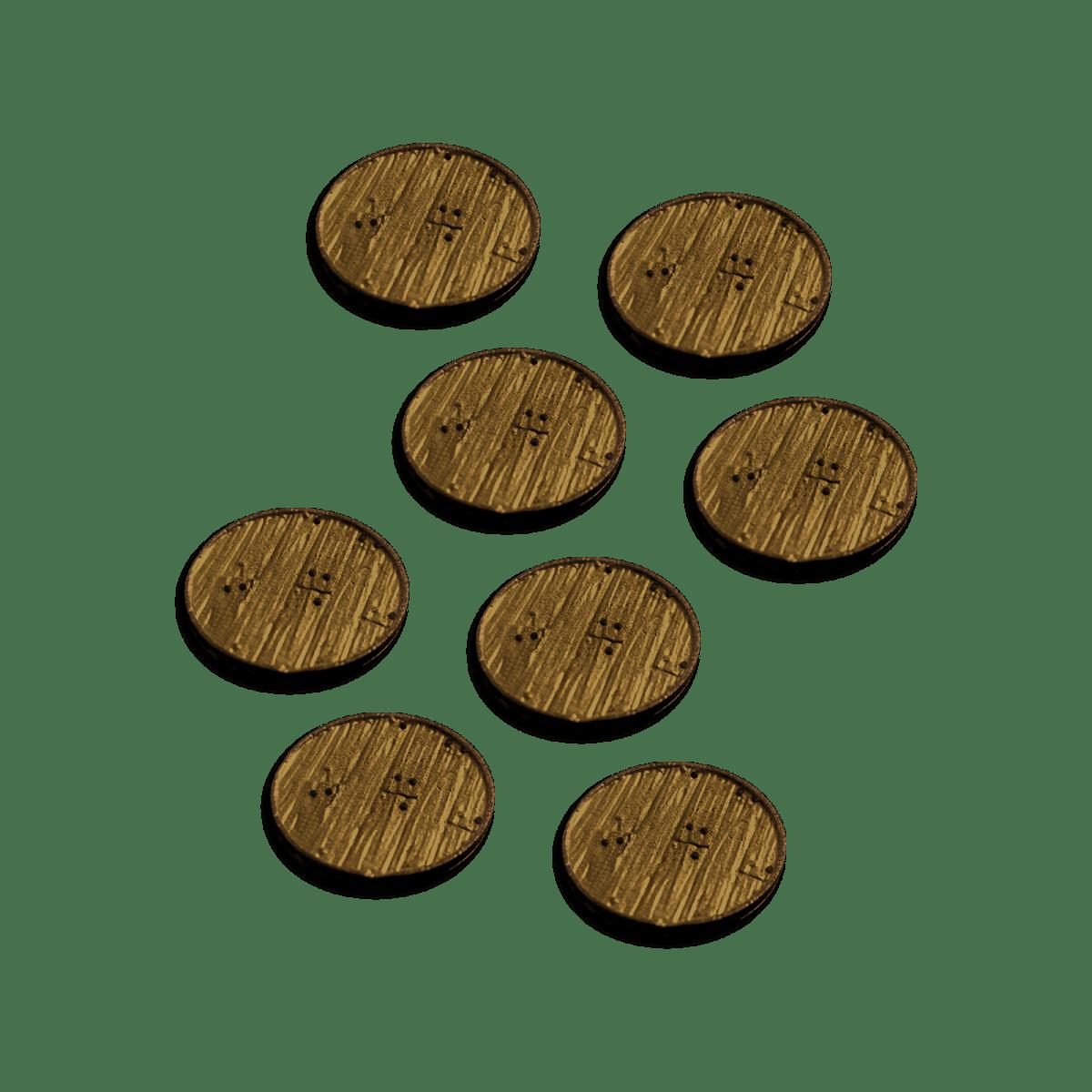Miniature Bases Set