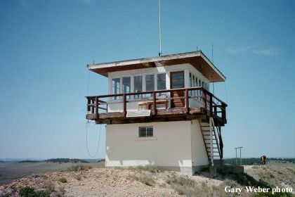 Diamond Butte Fire Lookout Tower