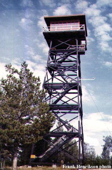 Desolation Butte Fire Lookout Tower