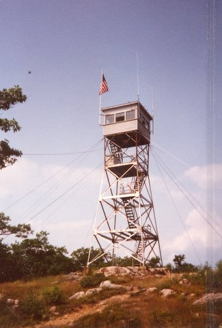 New Hampshire Fire Towers  Red Hill