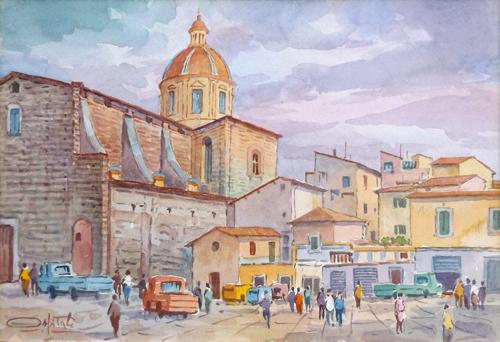 Quadro di Giovanni Ospitali Firenze  Cestello