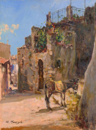 Quadro di Graziano Marsili Gangi  Sicilia