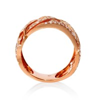 Rose Gold Rings: Antique Rose Gold Rings