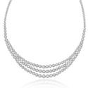 7.68ct Diamond 18k White Gold Necklace