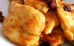 Petti di pollo stuzzicanti