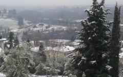 Allerta neve in Toscana, prolungata a quote basse fino alle 24 di sabato 31 gennaio