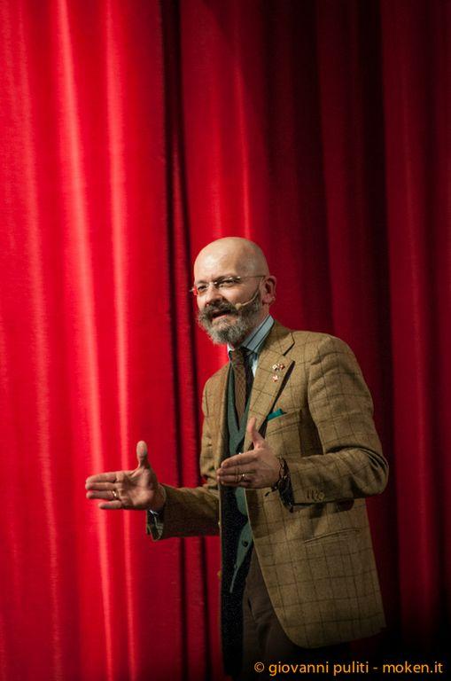 Oscar Giannino ieri a Firenze